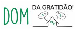 DOMINGO DE GRATIDÃO